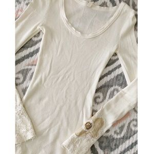 Free People Floral Cuff Thermal